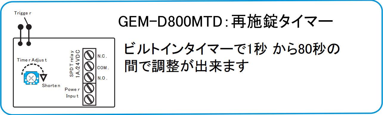 GEM-D800MTD