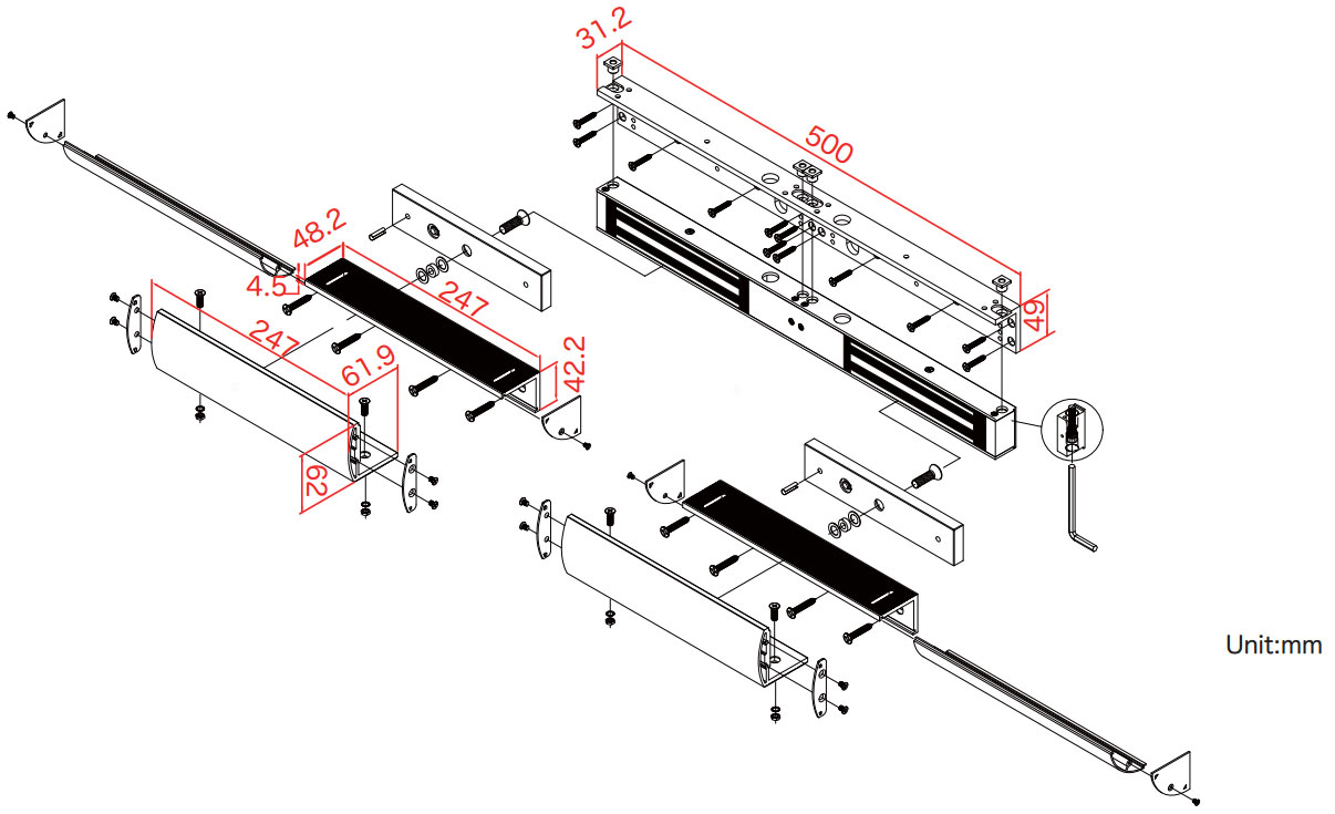 LZ-GEM-D600AU(寸法)