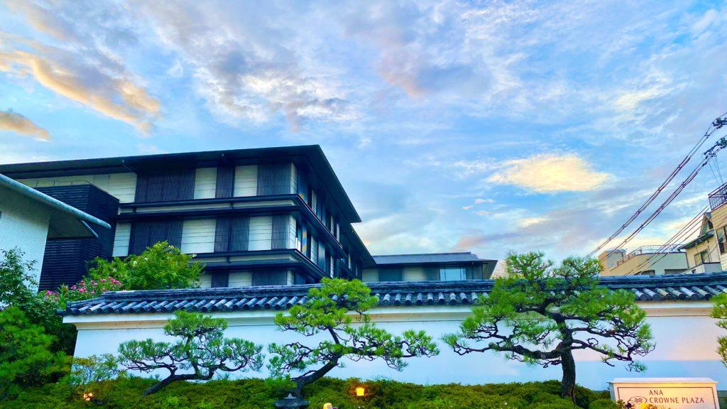 京都ホテル 外観